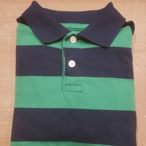 Boys Striped Polo Shirt